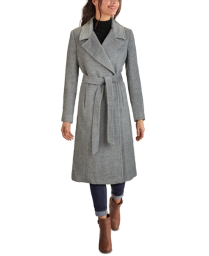 1940s Style Coats and Jackets for Sale Cole Haan Belted Maxi Coat $207.00 AT vintagedancer.com
