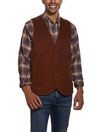 Men's Cord Sport Vest