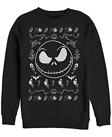 Men's Jack Spooky Sweater Long Sleeve T-Shirt