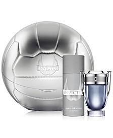 Men's 2-Pc. Invictus Eau de Toilette Soccer Ball Gift Set