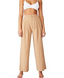 Drapey Wide Leg Pants