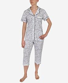 Printed Capri Pajama Set