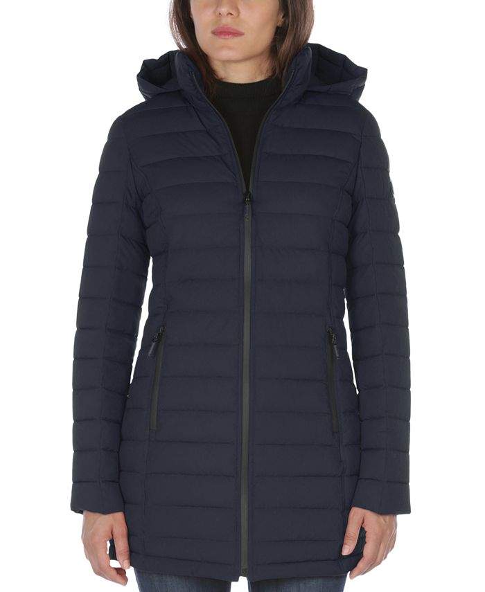 Nautica - Hooded Packable Puffer Coat