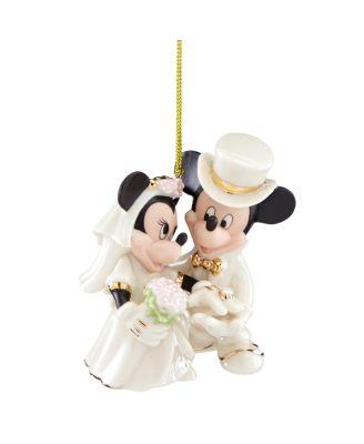 Minnie's Dream Wedding Ornament