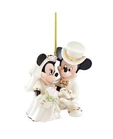CLOSEOUT! Minnie's Dream Wedding Ornament