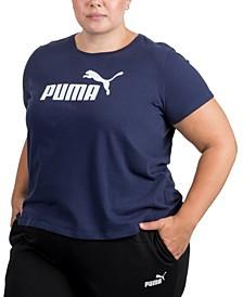 Plus Size Logo Crewneck T-Shirt