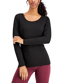 Base Layer Scoop-Neck Top