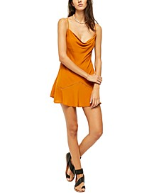 Forever Fields Mini Slip Dress