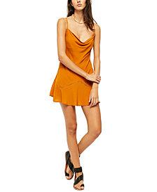 Free People Forever Fields Mini Slip Dress