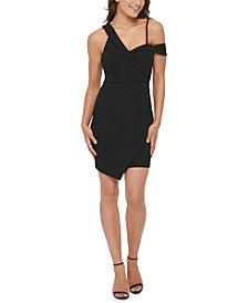 GUESS Asymmetrical Bodycon Dress
