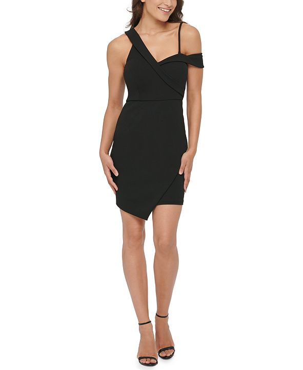 GUESS Asymmetrical Bodycon Dress
