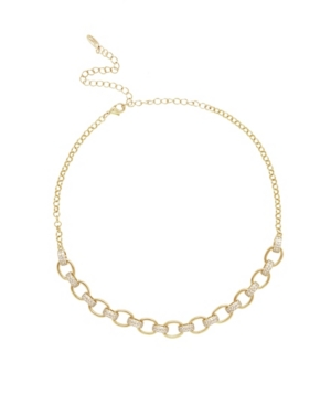 Ettika EMPOWERED CRYSTAL AND 18K GOLD CHAIN LINK WOMEN'S NECKLACE