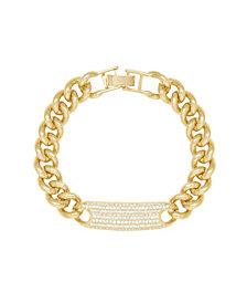 ETTIKA 18K Gold Bold and Righteous Women's Bracelet