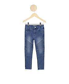 Toddler Girls Carrie Moto Jean