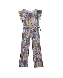 Big Girl Lurex Jumpsuit