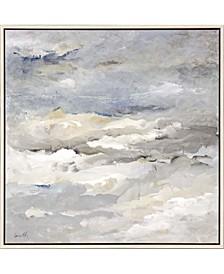"Sea Meets Sky Framed Wall Art, 38"" x 38"""