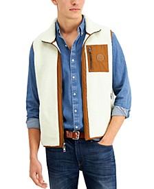 Men's Regular-Fit Full-Zip Fleece Vest