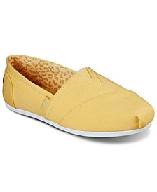 Women's BOBS Plush - Peace and Love Slip-on Casual Sneakers from Finish Line