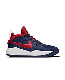 Big Boys Team Hustle D 9 Basketball Sneakers from Finish Line