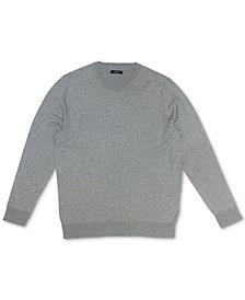 Alfani Men's Solid Crewneck Sweater, Created for Macy's