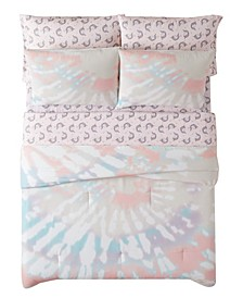 Tie Dye Party 7 Piece Bed in a Bag, Full