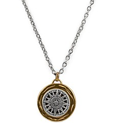 "Women's Compass Necklace, 30"""