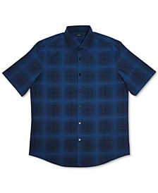 Men's Ashland Plaid Woven Shirt, Created for Macy's