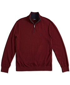 Men's Navtech Classic-Fit Quarter Zip Sweater