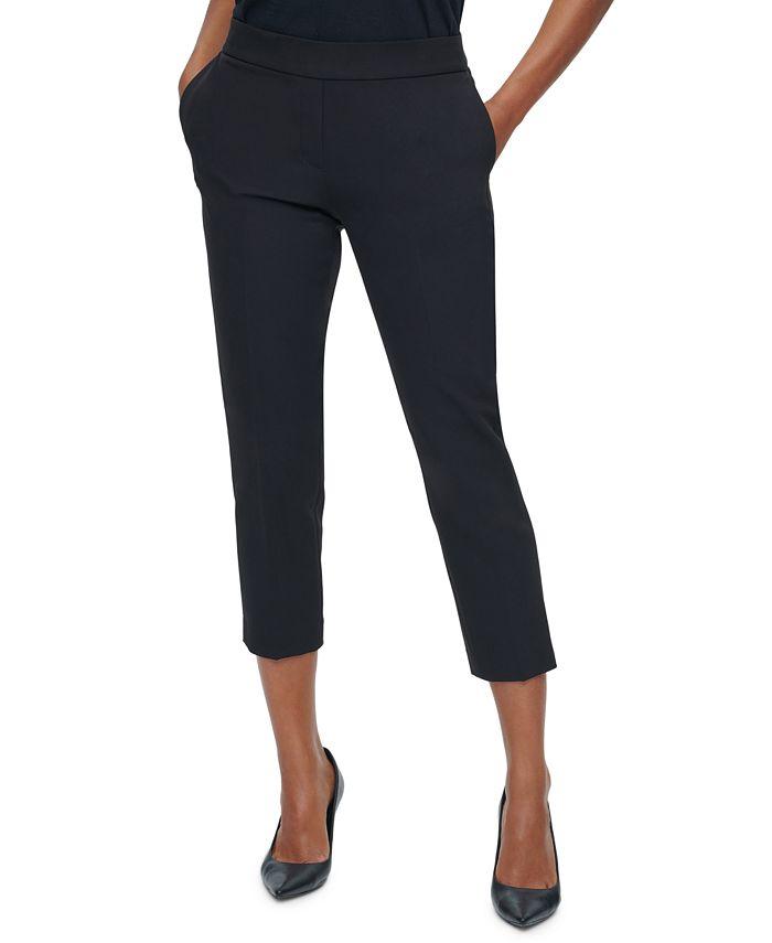 Calvin Klein - Slim-Fit Pull-On Pants