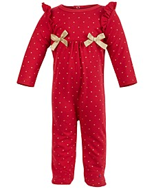 Baby Girls Heart Coverall, Created for Macy's