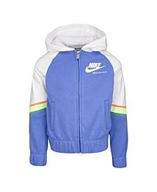 Little Girls Sportswear French Terry Full-Zip Hoodie