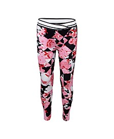 Little Girls Dri-Fit Printed Leggings