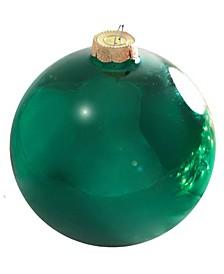 Shiny Glass Christmas Ornaments, Box of 6