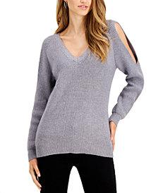 Fever Cold-Shoulder Sweater