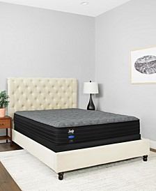 "Premium Posturepedic Chestnut St 12.5"" Plush Mattress Set- Queen"