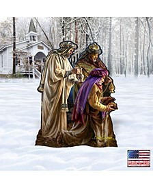 by Dona Gelsinger Miracle Nativity Three Kings Home and Outdoor Decor