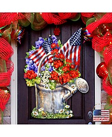 by Dona Gelsinger Celebrating The American Freedom Wall and Door Hanger