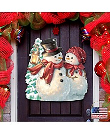 by Dona Gelsinger Snow Much in Love Outdoor Decor