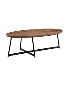 "Niklaus 47"" Oval Coffee Table"