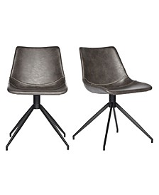 Deborah Swivel Chair, Set of 2