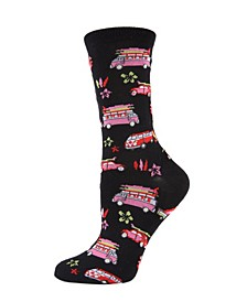 Surfs Up Women's Novelty Socks