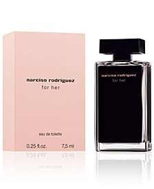 Receive a complimentary For Her Mini with any large spray purchase from the Narciso Rodriguez fragrance collection