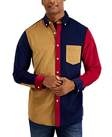 Men's Colorblocked Shirt, Created for Macy's