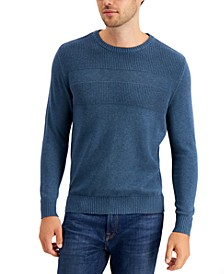 Textured Cotton Sweater, Created for Macy's