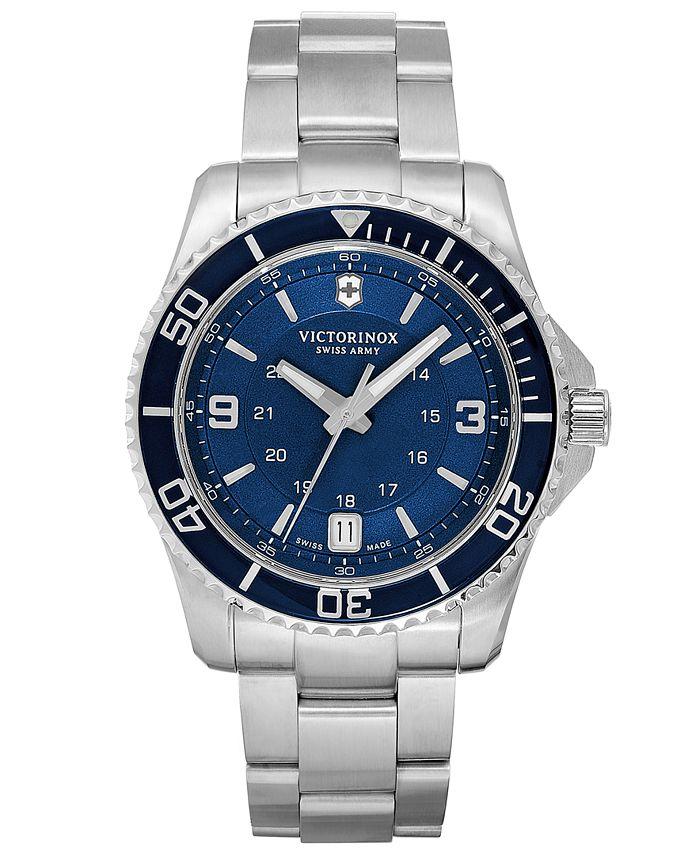 Victorinox Swiss Army - Watch, Men's Maverick GS Stainless Steel Bracelet 43mm 241602