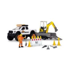 Dickie Toys Play life Road Construction Playset of 22 Pieces