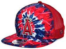 Los Angeles Angels Tie Dye Mesh Back 9FIFTY Cap