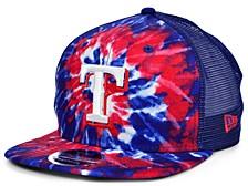 Texas Rangers Tie Dye Mesh Back 9FIFTY Cap
