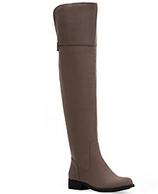 Sun + Stone Allicce Wide-Calf Over-The-Knee Boots, Created for Macy's