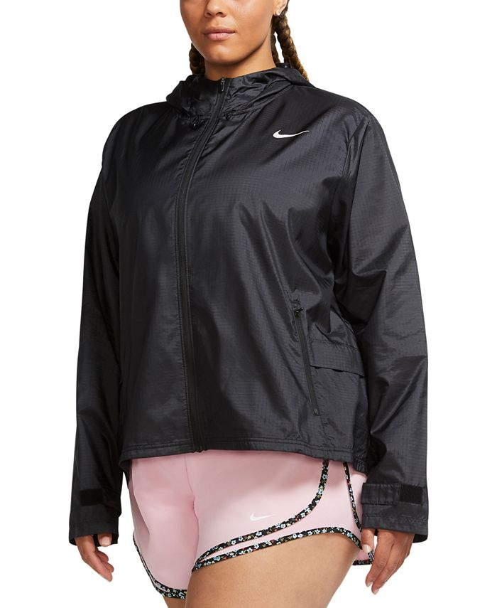 Nike - Plus Size Hooded Running Jacket
